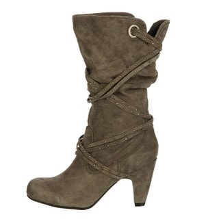 White Mountain Women's 'Giggle' Charcoal Boots