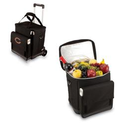 Picnic Time Black Chicago Bears Cellar with Trolley
