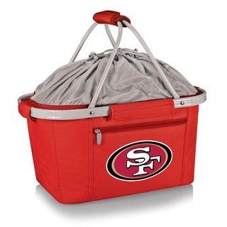 Picnic Time Metro Basket San Francisco 49ers -Red