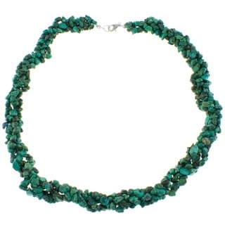 Pearlz Ocean Turquoise Chip Necklace