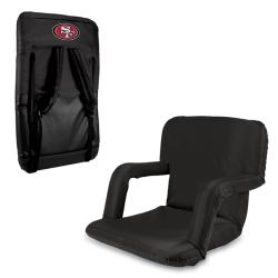 Black San Francisco 49ers Ventura Seat