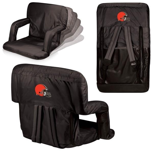 Black Cleveland Browns Ventura Seat