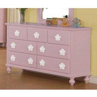 Pink/ White Flower Dresser