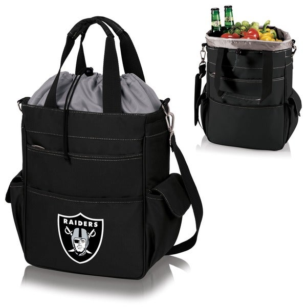 Picnic Time Activo-Tote Black (Oakland Raiders)
