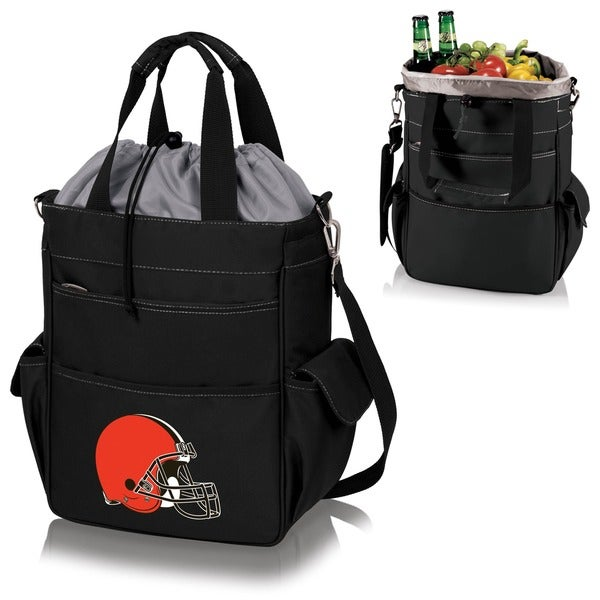 Picnic Time Activo-Tote Black (Cleveland Browns)