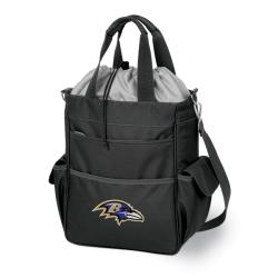Picnic Time Activo-Tote Black (Baltimore Ravens)