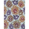 Hand-tufted Caulfield Multi Floral Rug (5' x 7'6)
