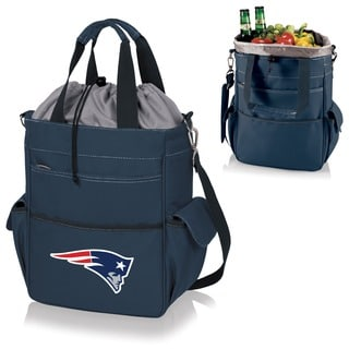 Picnic Time Activo-Navy Tote (New England Patriots)