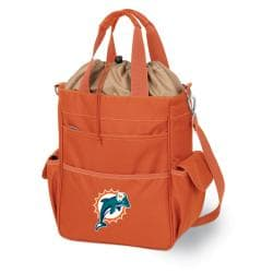 Picnic Time Activo-Orange Tote (Miami Dolphins)
