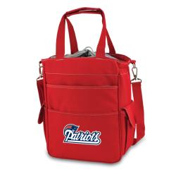 Picnic Time Activo-Red Tote (New England Patriots)