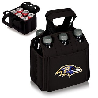 Picnic Time Baltimore Ravens Six Pack - Black