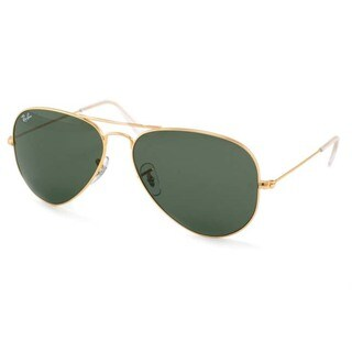 Ray-Ban Arista RB3044 Gold Extra Small Aviator Sunglasses