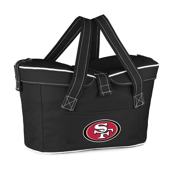 Picnic Time San Francisco 49ers Polyester Mercado Cooler Basket