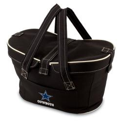 Picnic Time Dallas Cowboys Mercado Cooler Basket