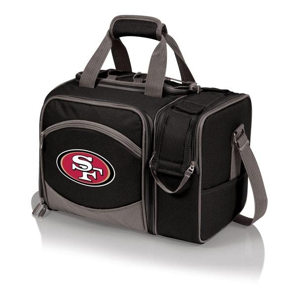 Picnic Time Malibu Black San Francisco 49ers