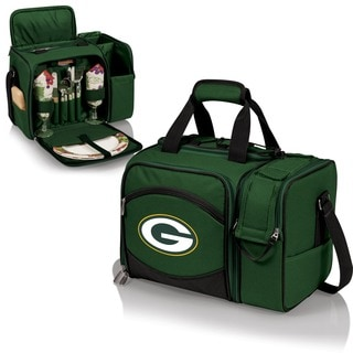 Picnic Time Malibu Hunter Green Bay Packers