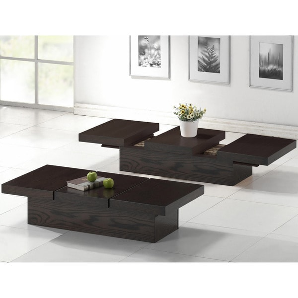 Baxton Studio Cambridge Dark Brown Wood Modern Coffee Table 13847829 Overstock Shopping