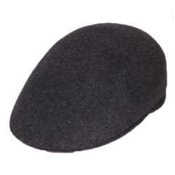 Ferrecci Men's Dark Grey Wool Cap