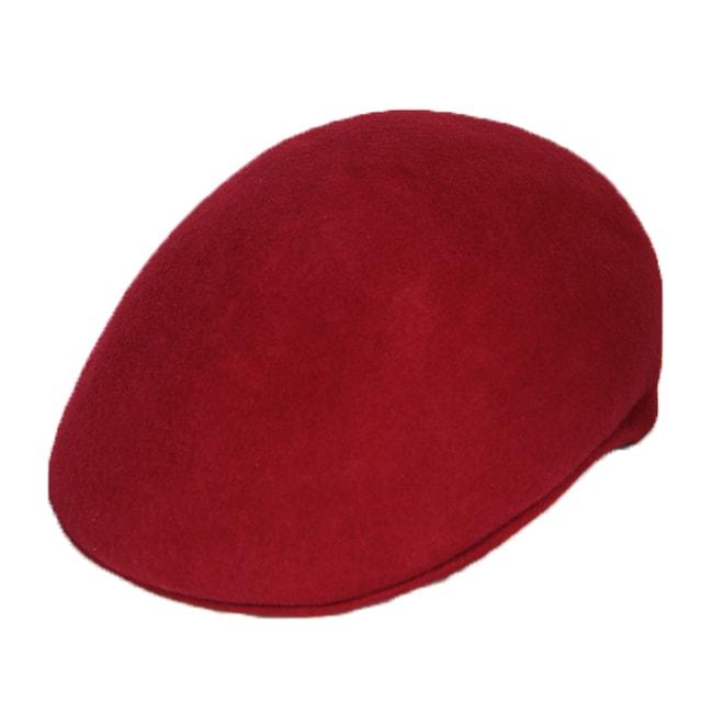 Ferrecci Men's Red Wool Cap