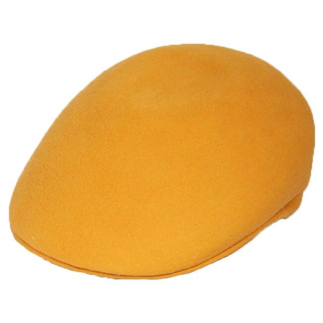 Ferrecci Men's Saffron Wool Cap