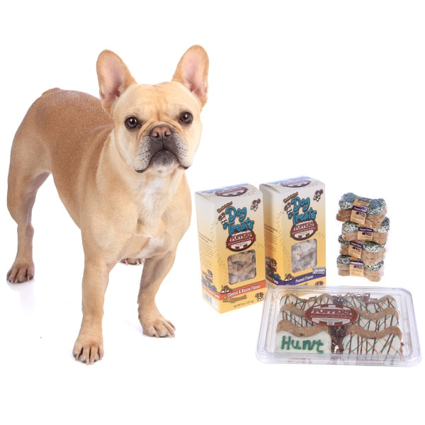 Foppers 178 piece Dog Treat Gift Set