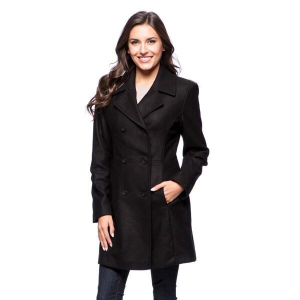 Trendz Women's Black Coat