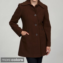 Stephanie Mathews Women's Button-front Coat