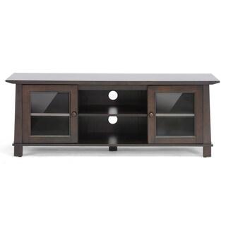 Havana Brown Wood Modern TV Stand