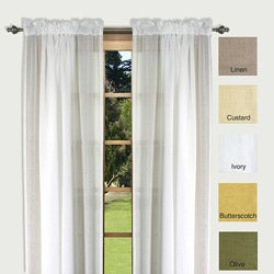 Lucerne 63-inch Sheer Curtain Panel Pair