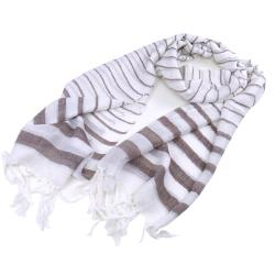 Mariner Striped Glitz Shawl