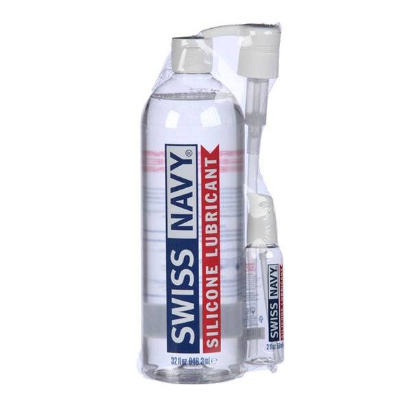 Swiss Navy 32-ounce Silicone Lubricant