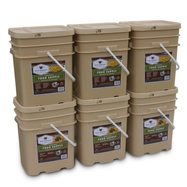 Wise Company Long Term 720-serving Emergency Food Package