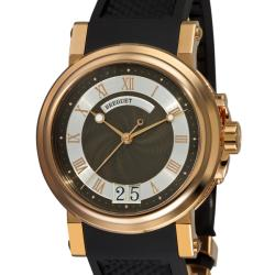 Breguet Men's 'Marine' Rose Gold Automatic Watch