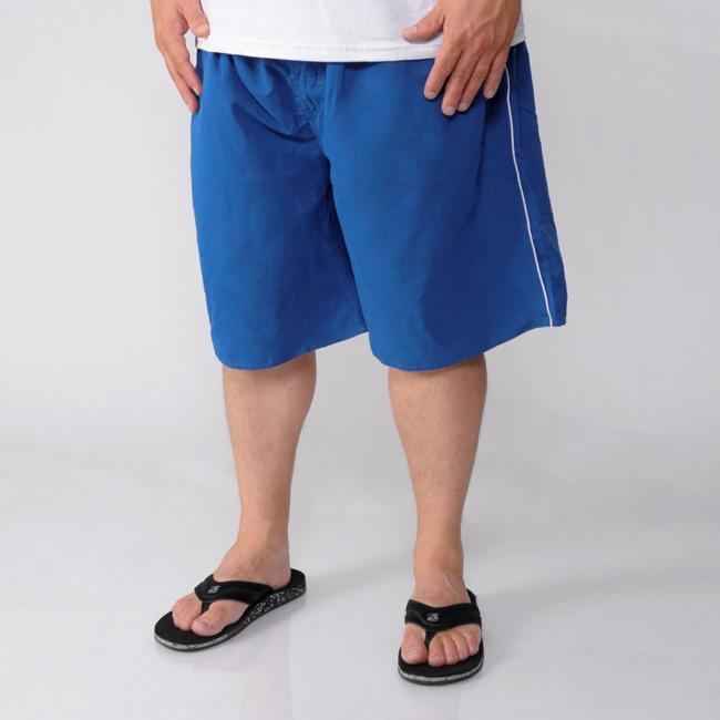Island Joe Men's Full Elastic Solid Color Swimwear