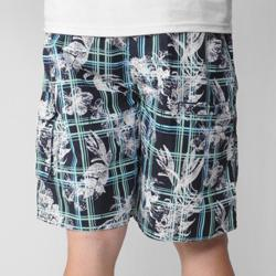 Island Joe Men's Navy Floral Print Swim Shorts