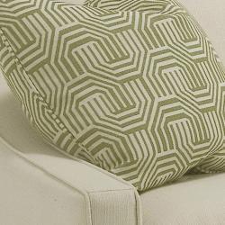 Genoa Ivory Fabric Sofa