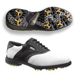 FootJoy SuperLites White/ Black Golf Shoes