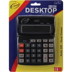 Desktop Calculator 8-digit Dual Power