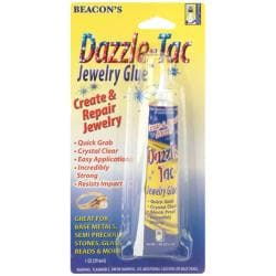 Dazzle-Tac 1-oz Jewelry Glue