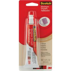 Scotch One-ounce Maximum-strength Adhesive with Pointed Tip