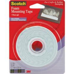 Scotch Foam 0.5x150-in Mounting Tape