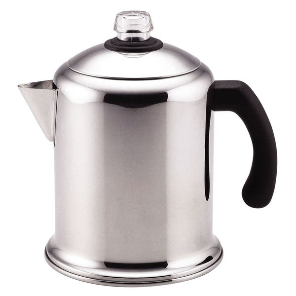 Farberware Yosemite Stainless Steel 8-cup Coffee Percolator 8372675