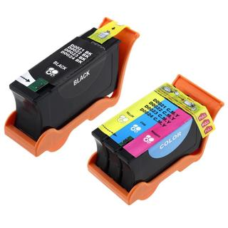 INSTEN Color/ Black Ink Cartridge for Dell 22/ P513W/ P713W (Pack of 2)