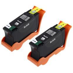 Black Ink Cartridge for Dell 24/ V313/ V313W (Pack of 2)