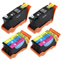 Black and Color Ink Cartridge for Dell P713W/ V515W (Pack of 4)