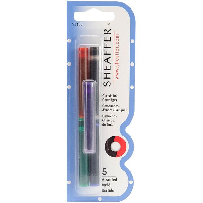 Shaeffer Skrip Ink Cartridge Refill (Pack of 5)