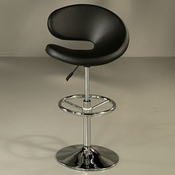 Gilbraltar Black Hydraulic Bar Stool