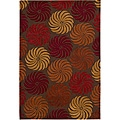 "Nourison Hand-Tufted Contours Multicolor Area Rug (5' x 7'6"")"