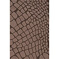 Hand-tufted Stones Brown Rug (8' x 10')