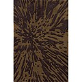 Hand-tufted Splash Multicolor Rug (8' x10')